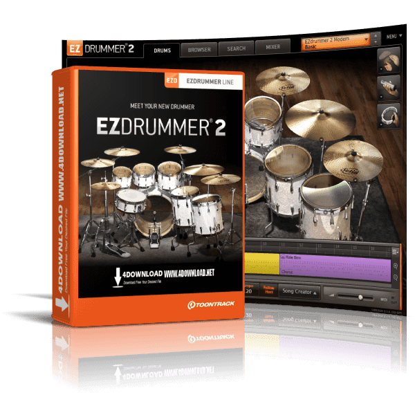 Toontrack EZdrummer 2 v2.1.8 Build 21073 Full version