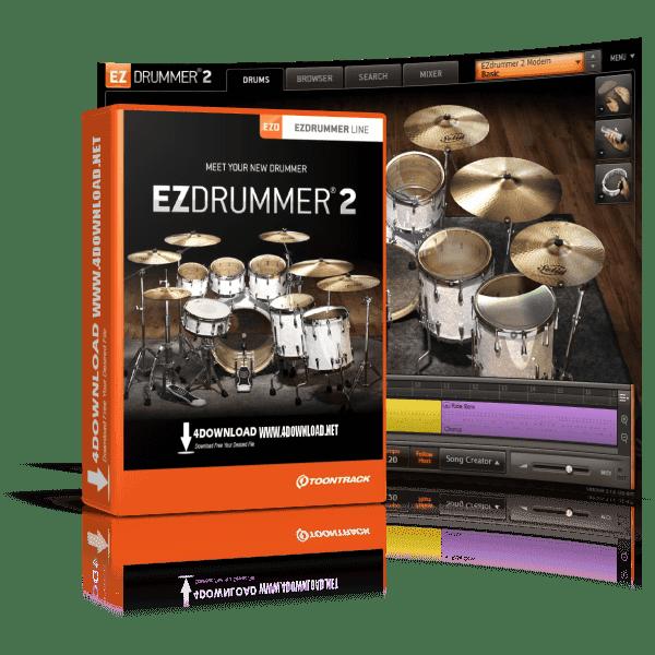 Toontrack - EZdrummer 2 v2.1.6 Full version