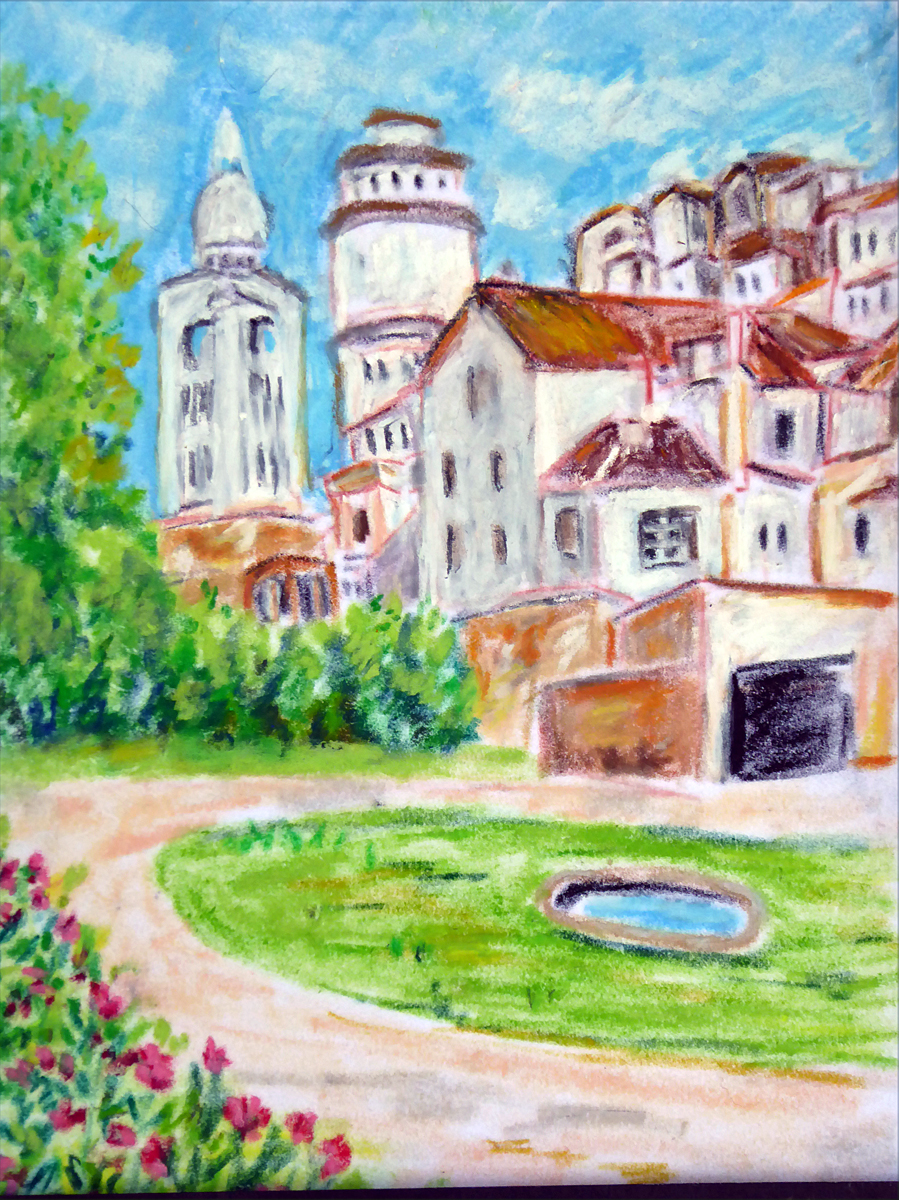 Art de vivre la peinture de peintrefiguratif septembre 2014 for Peinture pastel gras