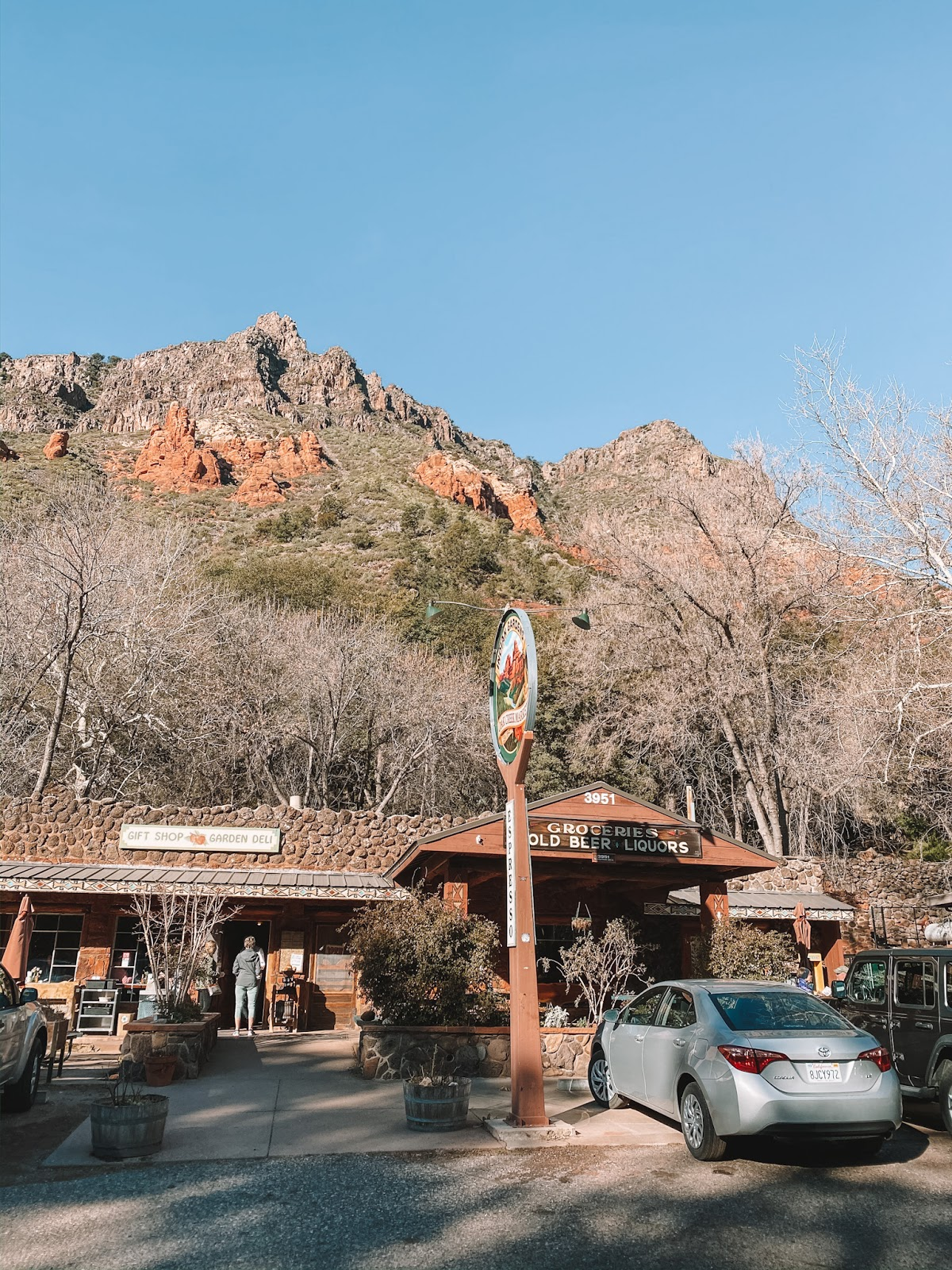 Indian Gardens Cafe in Sedona Arizona is a a must eat!