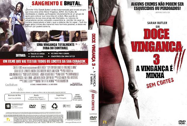 Capa DVD Doce Vingança 3
