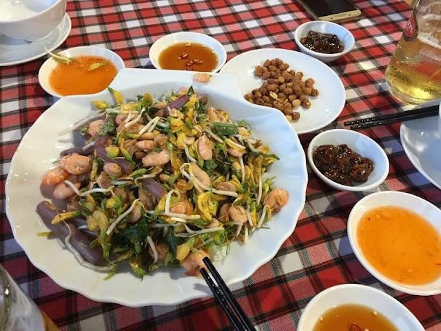 Món ăn tại Hải sản Lộc Huệ Sa Đéc