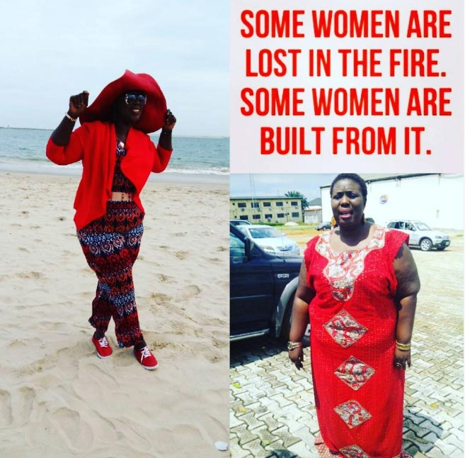 Lepacious Bose describes her amazing weightloss with inspirational story