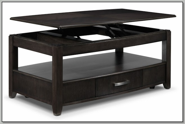 Lift Coffee Table Black