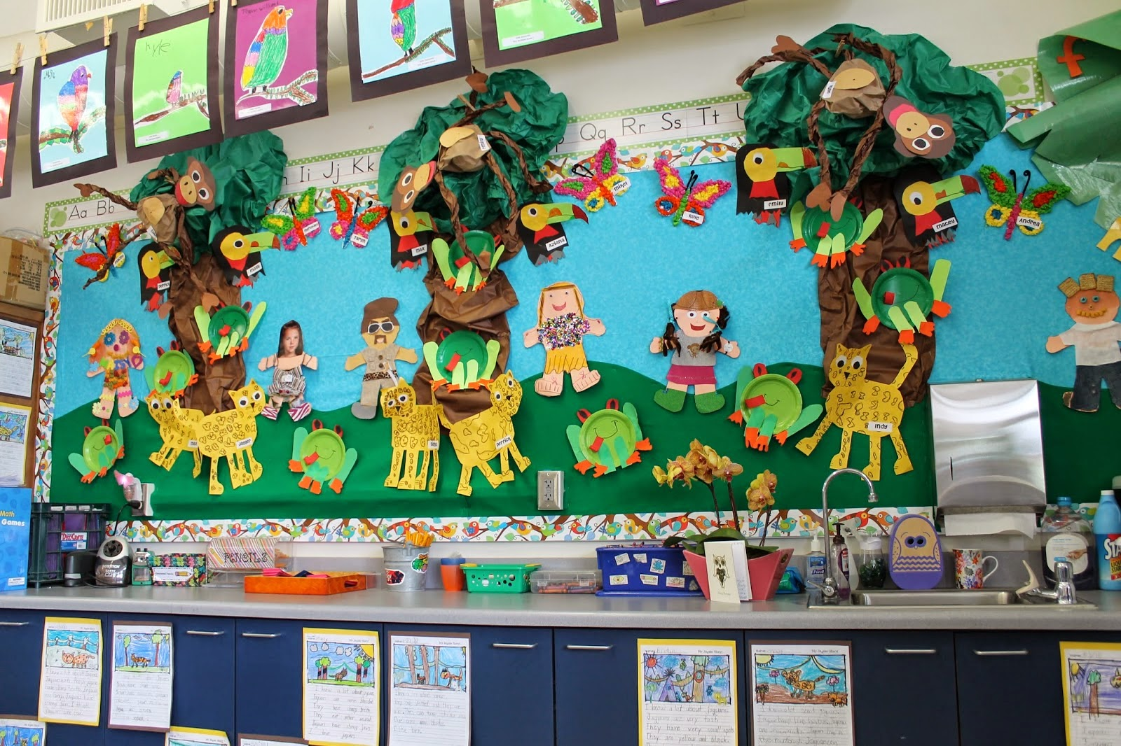 Teacher Bits And Bobs Christmas In July Rainforest Style