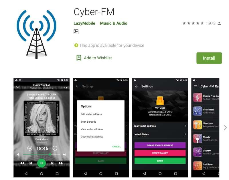 CYFM代币(CYFM TOKEN)
