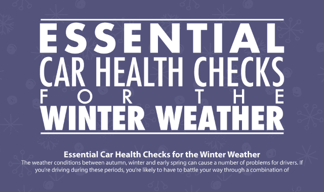 Essential Car Health Checks For Winter Weather