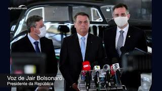 A pós eleição do congresso nacional, Pacheco e Bolsonaro se encontram e apontam pacificação entre os Poderes