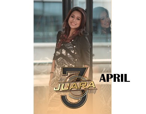 biodata April peserta 3 Juara TV3, biodata 3 Juara TV3 April, profile April 3 Juara TV3 2016, profil dan latar belakang April 3 Juara genre balada, gambar April 3 Juara TV3