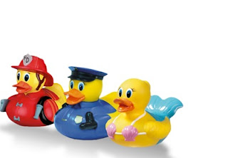 Rubber Duckies with White Hot Technology