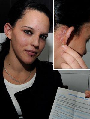 A tinta para cabelo, com características tóxicas, que já provocou  ferimentos em duas mulheres, em Olhão e no Barreiro,