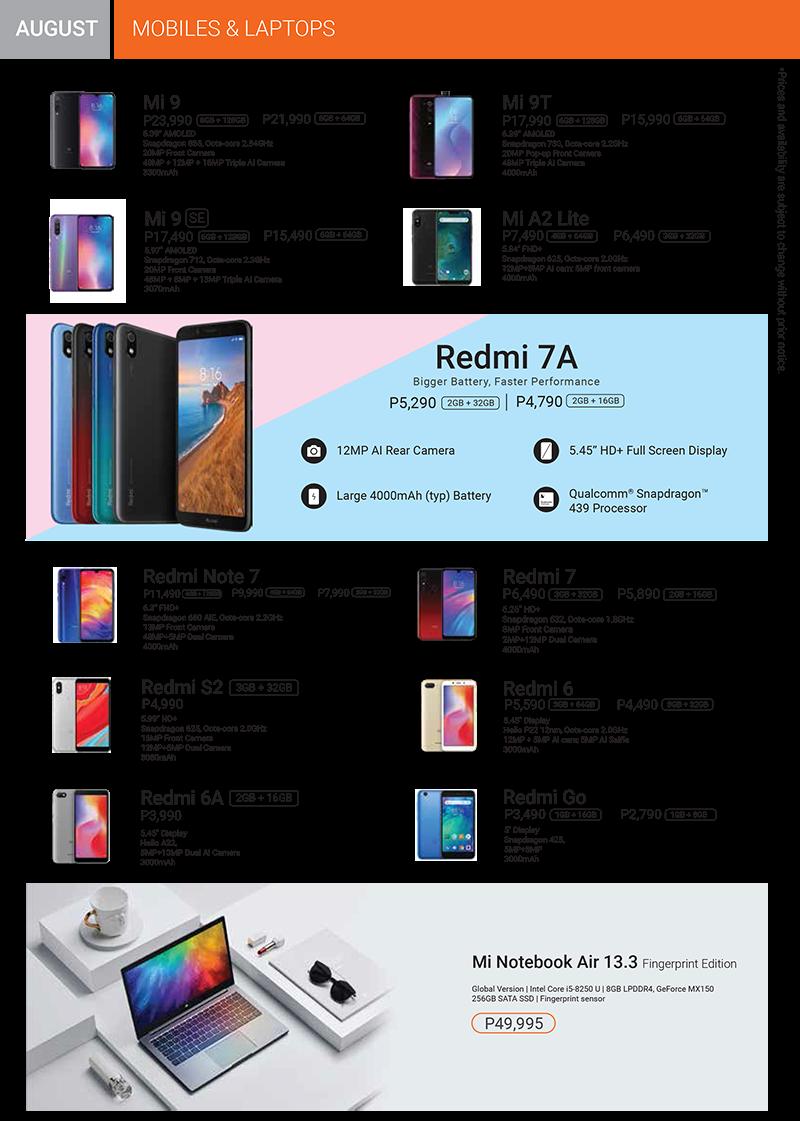 Xiaomi Brochure Page 1