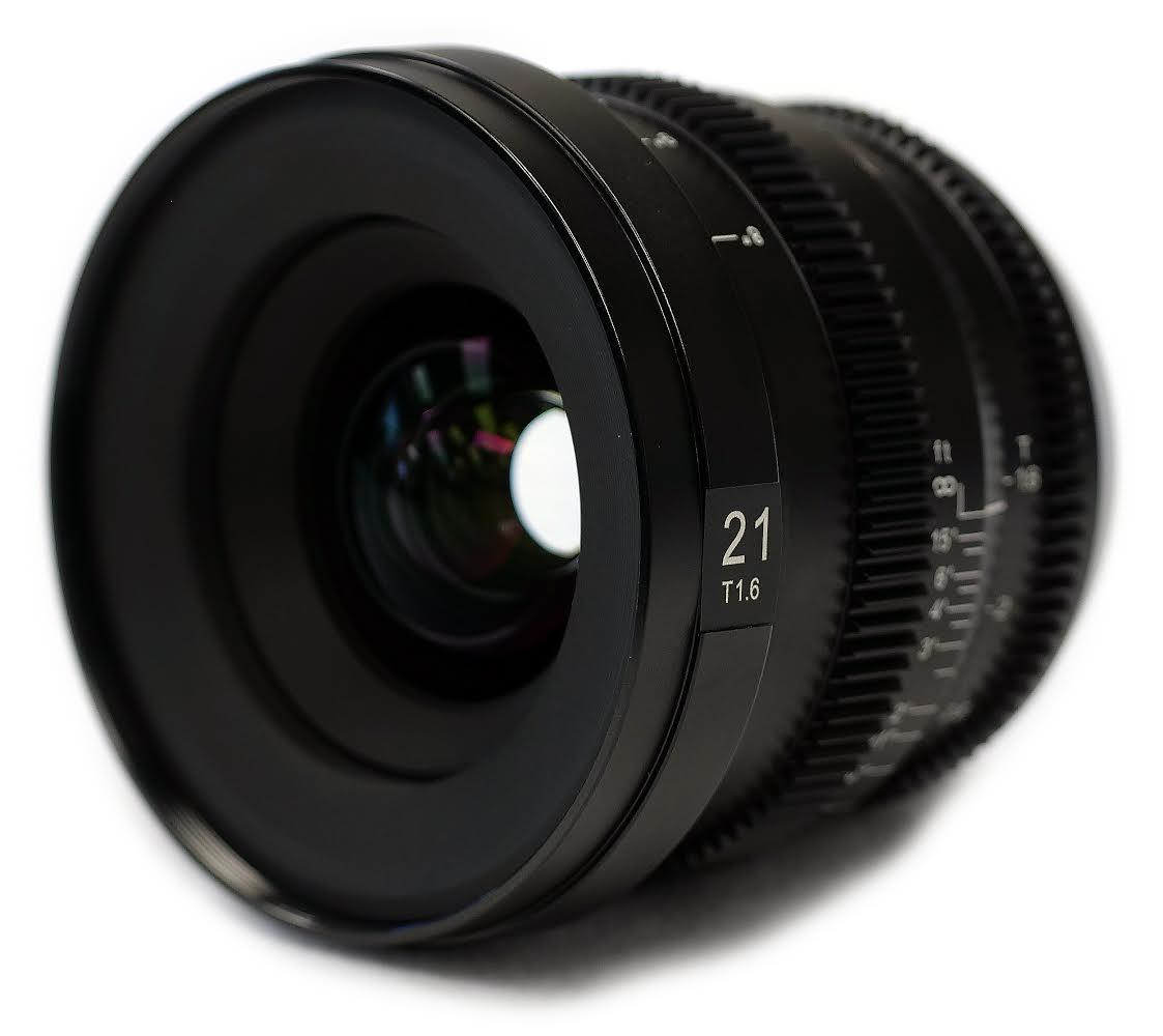 SLR Magic MicroPrime Cine 21mm T1.6