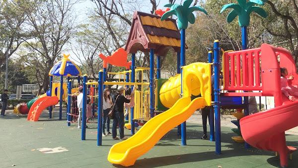 八卦山兒童遊戲場全新改造 彰化囝仔玩得安全