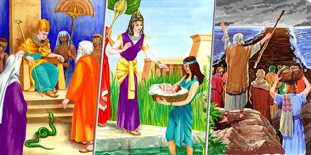 قصة سيدنا موسى عليه السلام كاملة