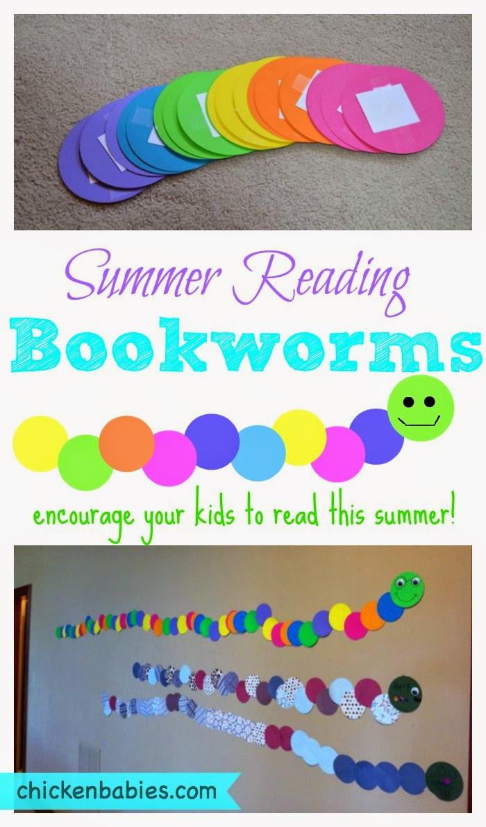 Free Book Worm Kids Activity