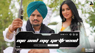 Sidhu Moose Wala Me And My Girlfriend Lyrics Status Download Punjabi Song Ho jatt di mashook biba Russia ton WhatsApp video black background.