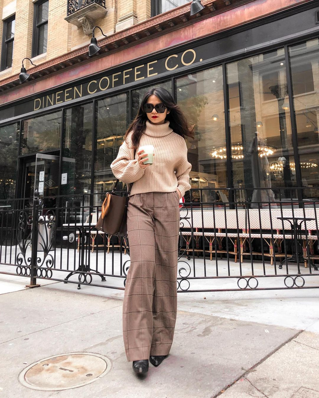 Plaid Pants are a Versatile Pick for Fall