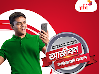 Robi unlimited validity internet pack