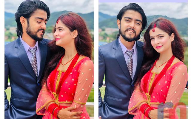 Nishan Bhattari & His Wife Reecha Bhattarai Neupane