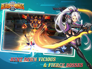 Blade & Wings: Future Fantasy 3D Anime MMORPG Game Mod Apk