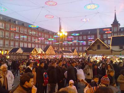 Horario Mercadillo Tradicional Navideño de la Plaza Mayor 2014 - 2015