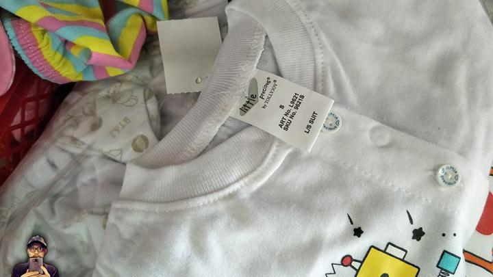 Shopping Baju Baby Berjenama Serendah RM2 Sepasang di Parit Buntar