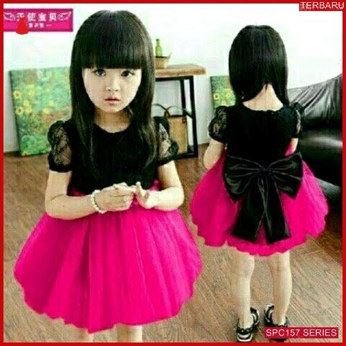 SPC157D48 Dress Ribbon Atsn Kids Pakaian Anak Perempuan Wanita | BMGShop