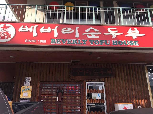 Koreatownin mainio ravintola