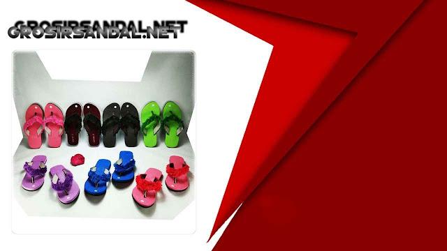 Sandal Lisban Bulu GSJ || Grosir Sandal Murah Garut