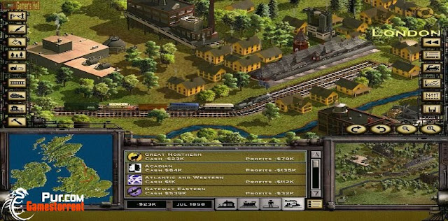 Railroad Tycoon 2 Platinum - Full Version Game Download