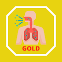 Icon GOLD COPD - Chronic obstructive pulmonary disease