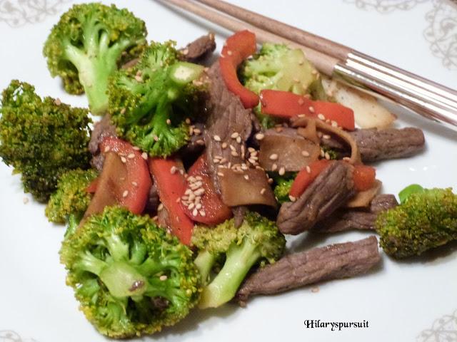 Boeuf teriyaki aux légumes croquants