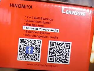 Spesifikasi Reel Hinomiya Converter 1000