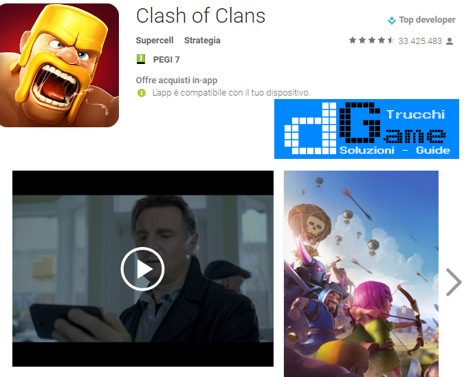 Trucchi Clash of Clans Mod Apk Android v8.709.16