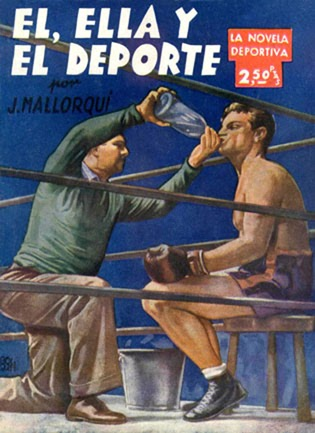 PAUL BISHOP ~ WRITER: SPANISH FIGHT PULPS!