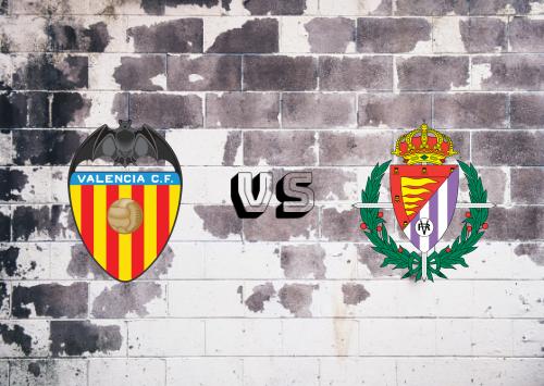 Valencia vs Real Valladolid  Resumen