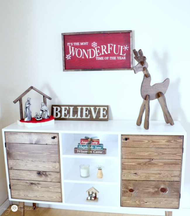 Make a decorative and playful wooden reindeer puzzle