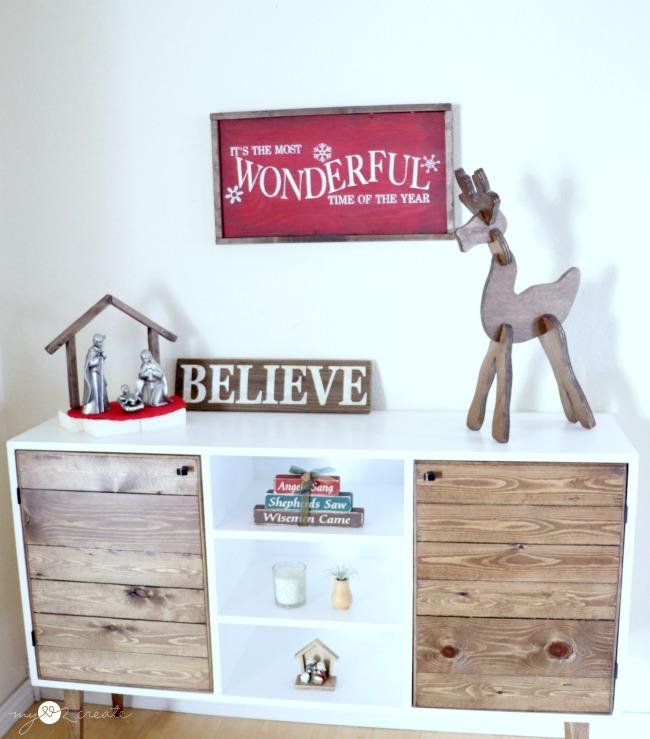 Wooden Reindeer Puzzle My Love 2 Create