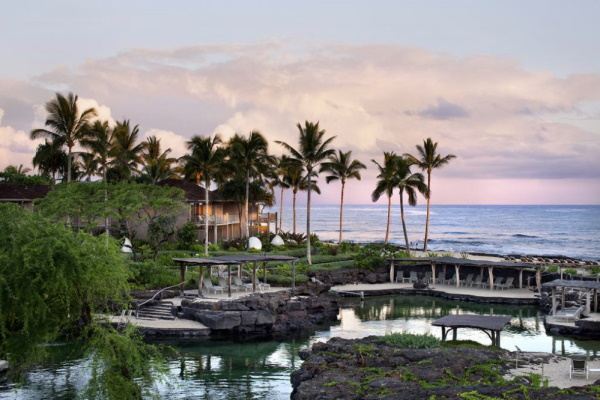 Four Seasons Resort in Kaupulehu, Hawaii