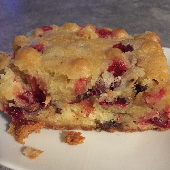 Cranberry Orange Holiday Cake
