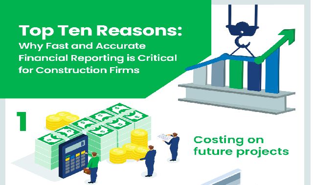 Why Fast and Accurate Financial Reporting is Critical for Construction Firms #infographic
