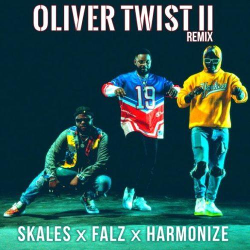 """Music: Skales x Falz x Harmonize – """"Oliver Twist II (Remix)""""#arewapublisize"""