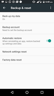 Factory Reset-Solution to Unforunately, App has stopped error - Sooloaded.net