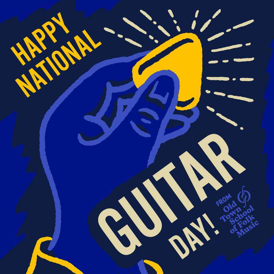 National Guitar Day Wishes Pics