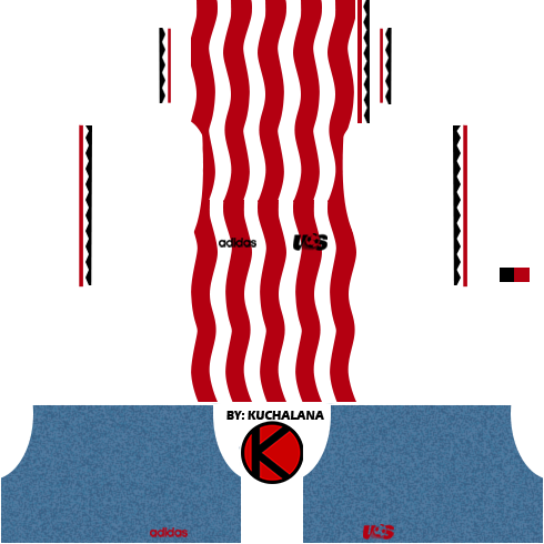 United State (USA) Kits World Cup 1994  -  Dream League Soccer
