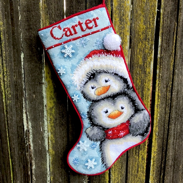 Dimensions Christmas Stocking Kits.Needlepoint Christmas Stocking Tutorial Knitionary