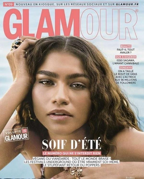Natural Beauty: Zendaya Covers Glamour Paris June 2019