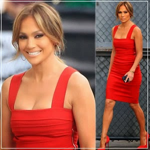 Jennifer Lopez Made a Spectacular Display of Her Enviable Figure