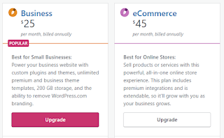 Wordpress Business & Ecommerce Plan